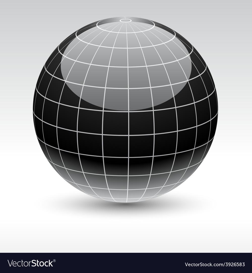 Earth icon vector | Price: 1 Credit (USD $1)