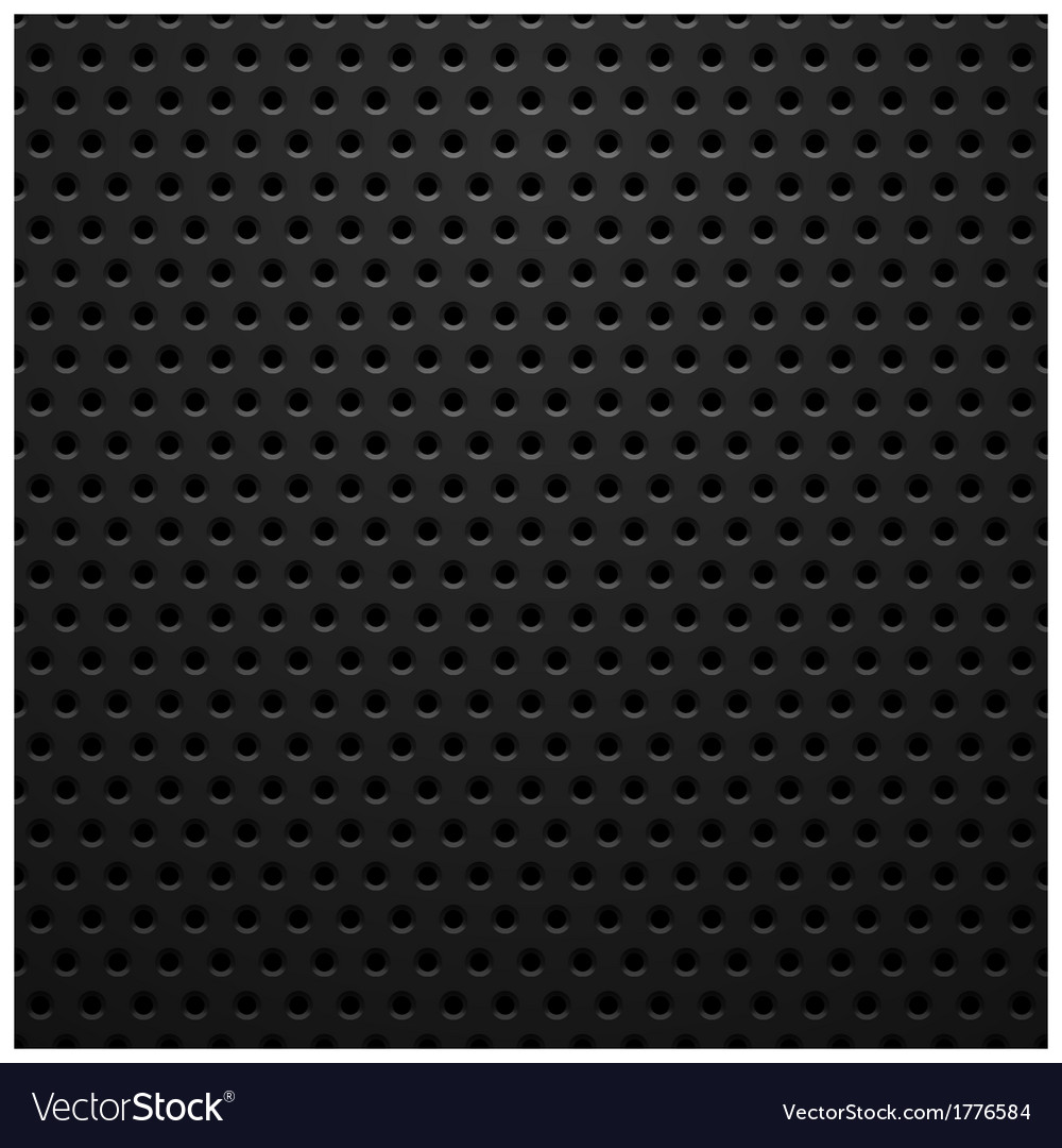Black metal texture with holes vector | Price: 1 Credit (USD $1)