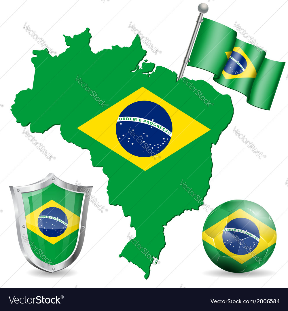 Brazilian symbol vector | Price: 1 Credit (USD $1)