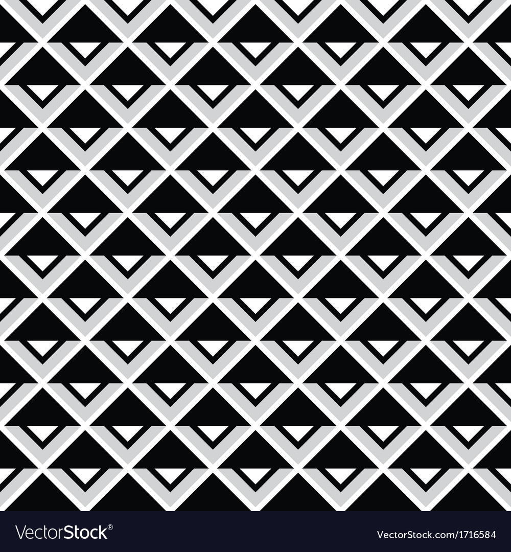 Tribal aztec abstract squares seamless pattern vector | Price: 1 Credit (USD $1)