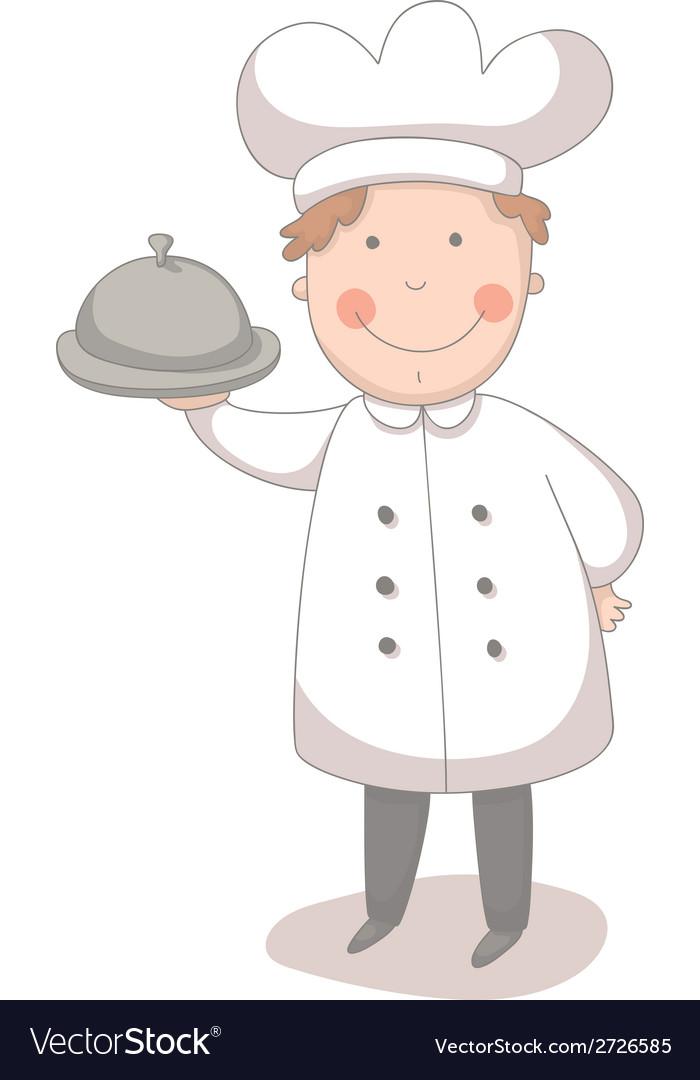 Cartoon of cook vector | Price: 1 Credit (USD $1)