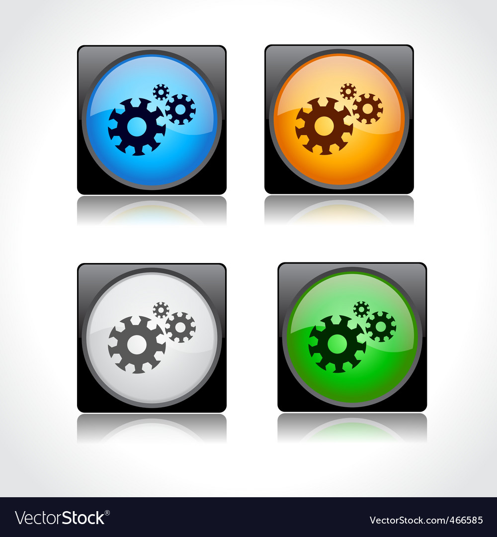Web page buttons vector | Price: 1 Credit (USD $1)