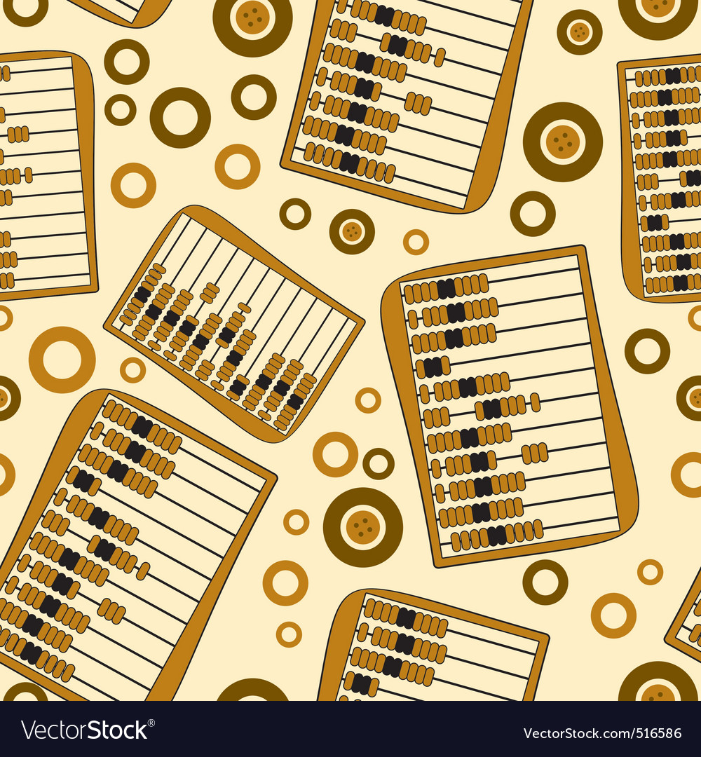 Abacus pattern vector | Price: 1 Credit (USD $1)