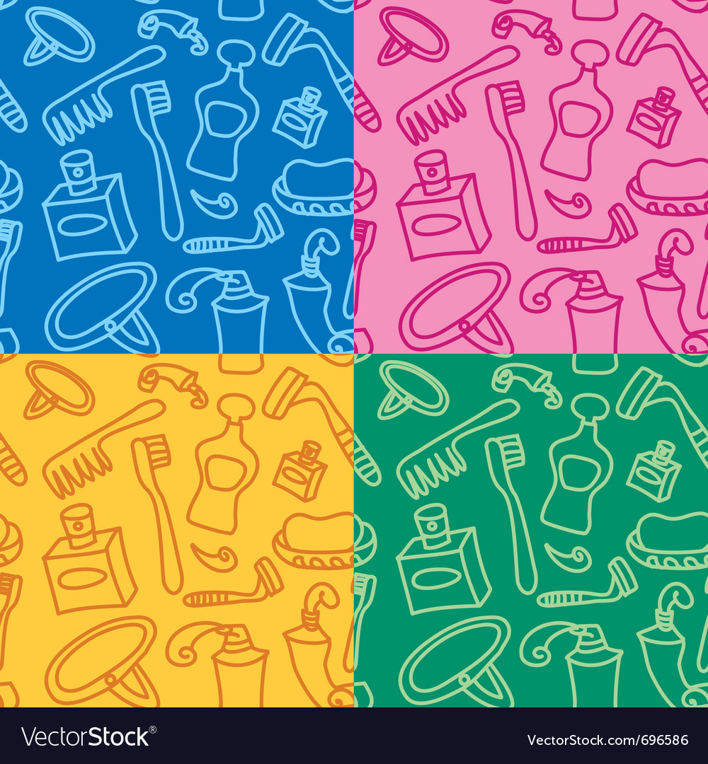 Body care seamless pattern vector   Price: 1 Credit (USD $1)
