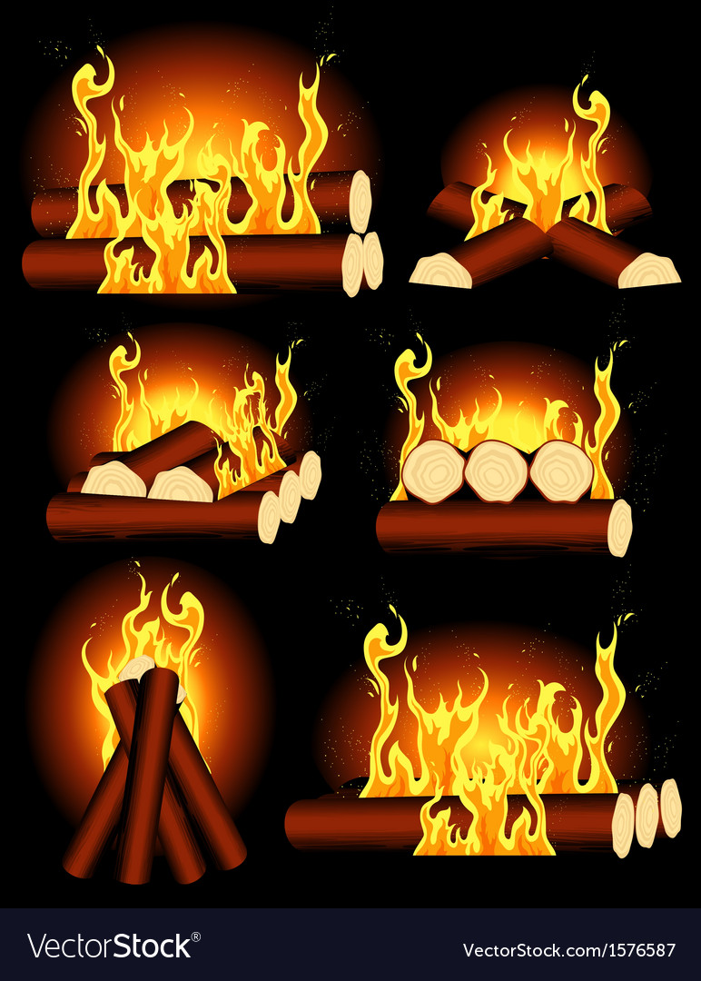Bonfire collection vector | Price: 1 Credit (USD $1)