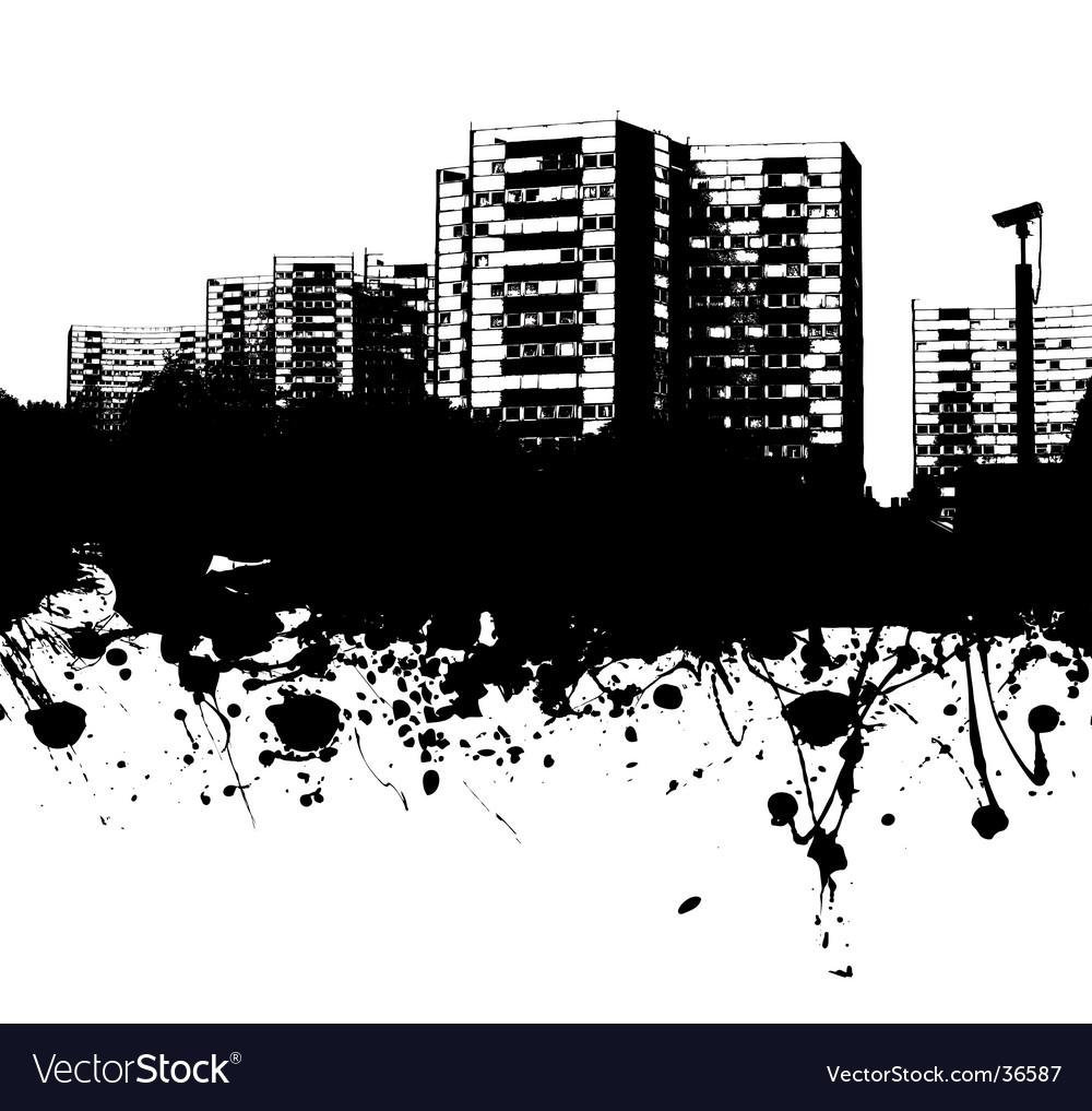 City crash vector | Price: 1 Credit (USD $1)