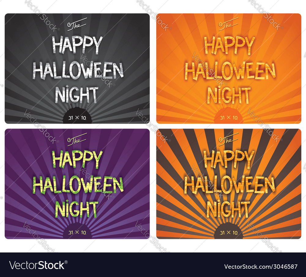 Halloween design lettering vector | Price: 1 Credit (USD $1)