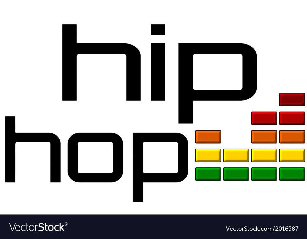 Hip hop with dj equalizer music volume -on alpha vector | Price: 1 Credit (USD $1)
