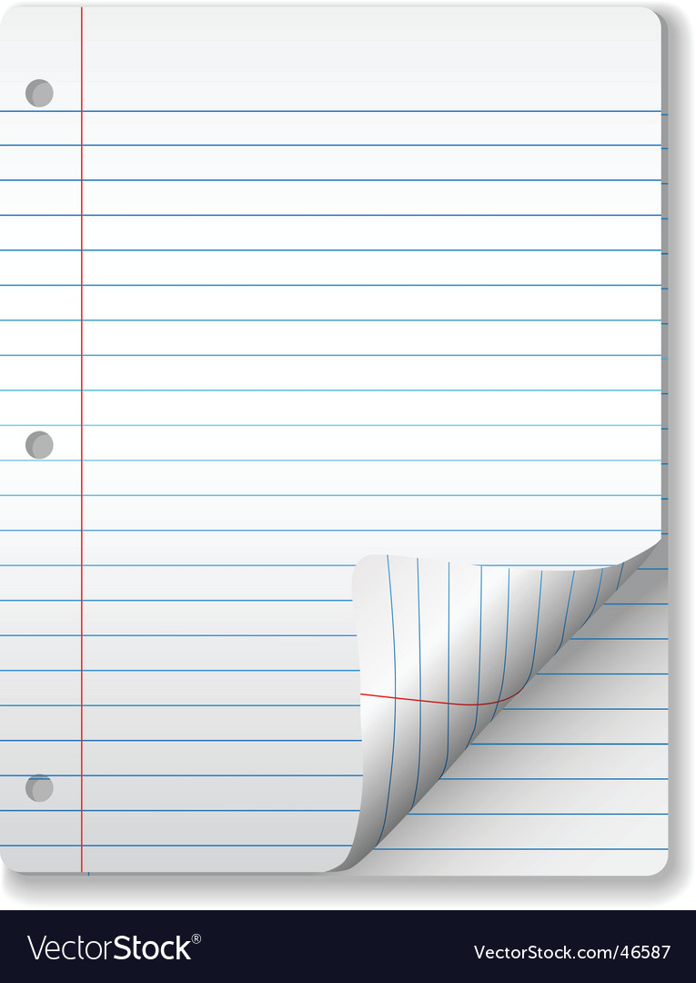 Paper pages and page curl vector | Price: 1 Credit (USD $1)