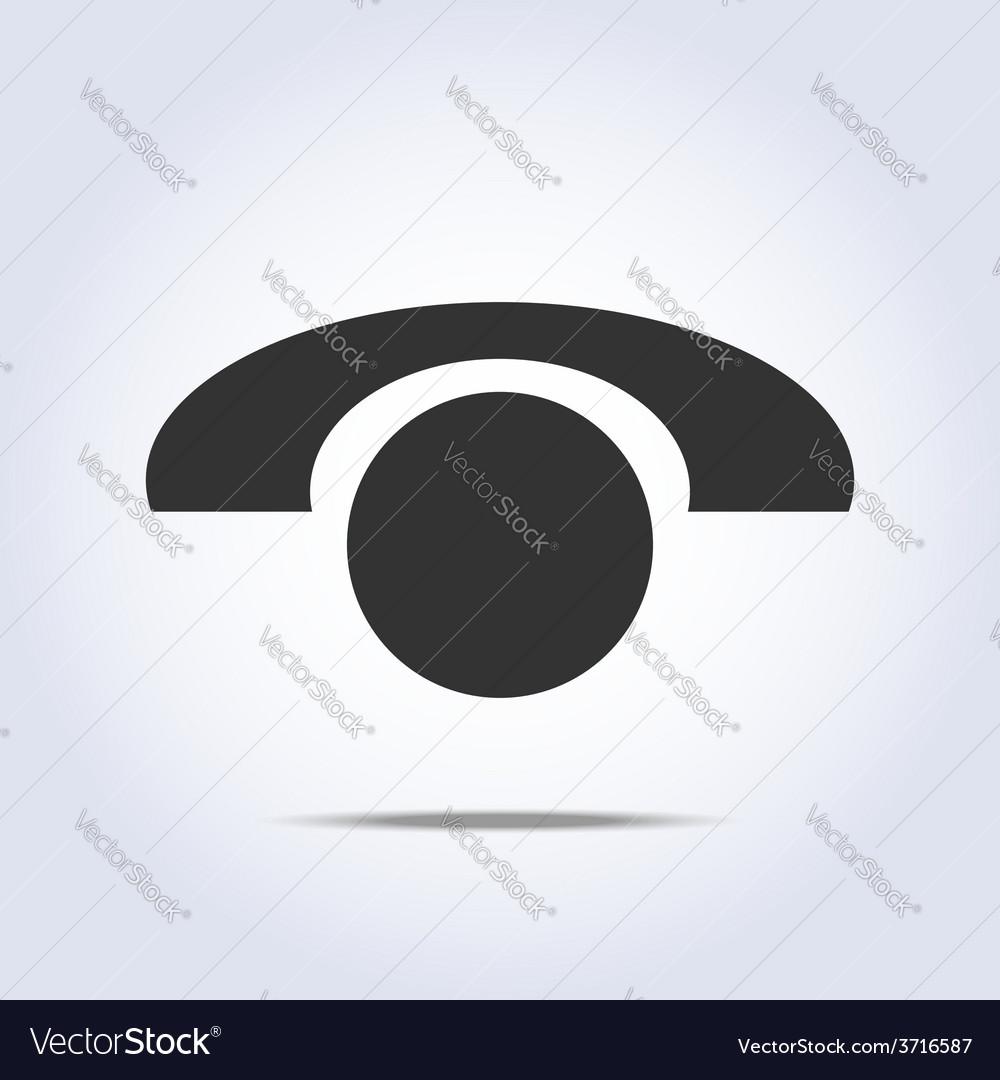 Phone retro icon in vector | Price: 1 Credit (USD $1)