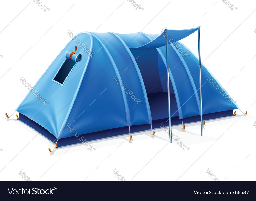Tent vector | Price: 3 Credit (USD $3)