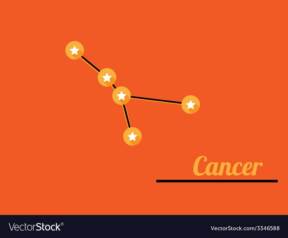 Constellation cancer vector | Price: 1 Credit (USD $1)