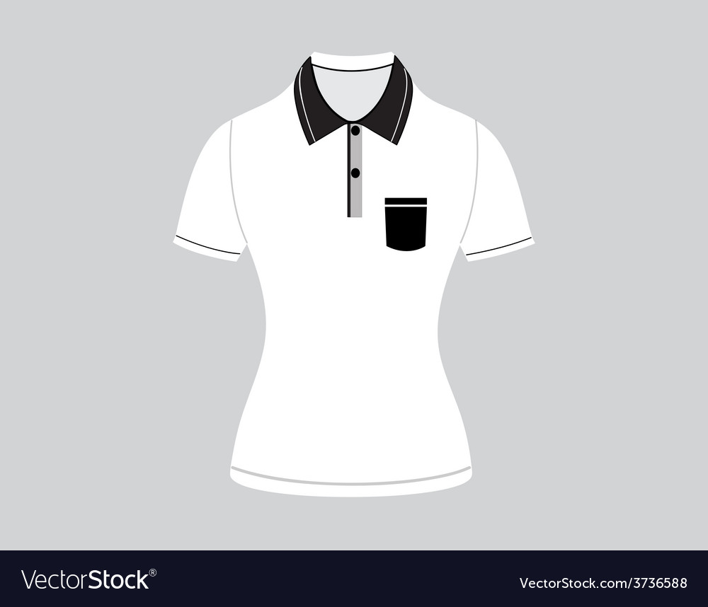 Polo shirt outline vector   Price: 1 Credit (USD $1)