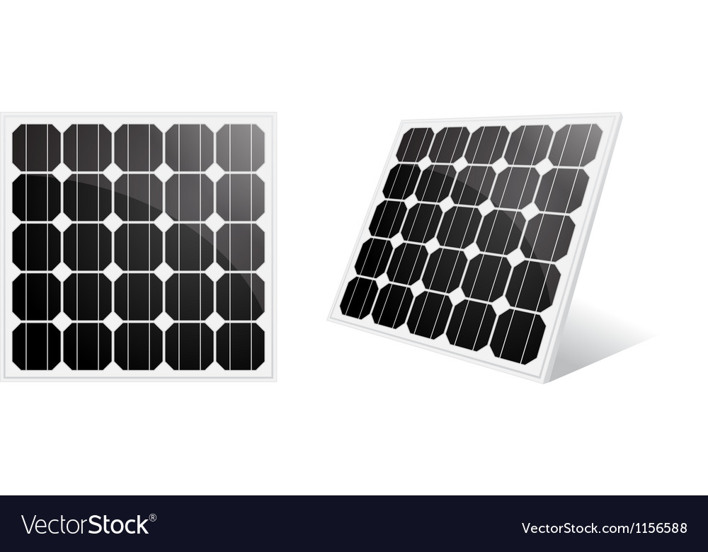 Solar cell vector | Price: 1 Credit (USD $1)