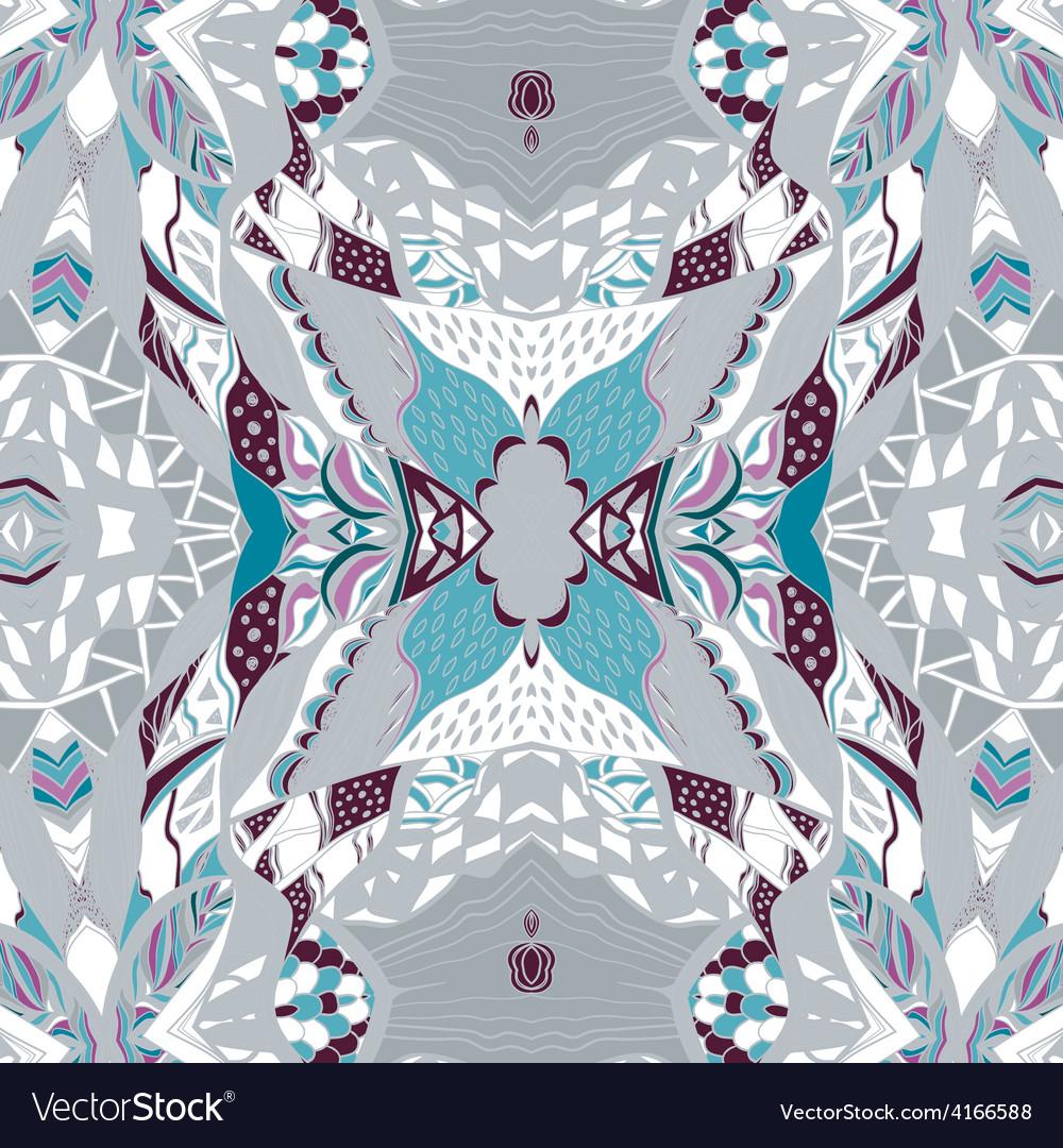 Traditional ornamental paisley bandanna hand drawn vector   Price: 1 Credit (USD $1)