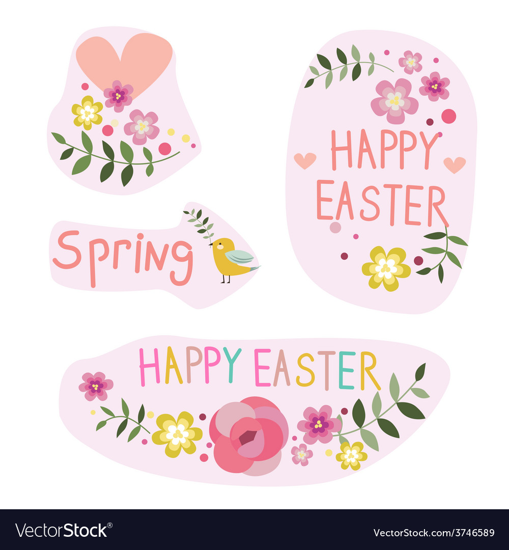 Easter designs vector | Price: 1 Credit (USD $1)