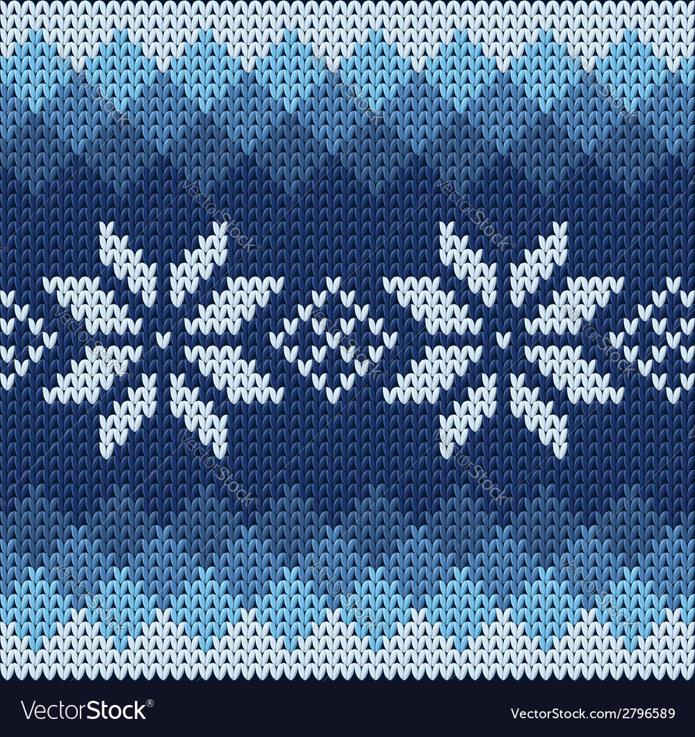 Knitted jacquard pattern vector | Price: 1 Credit (USD $1)