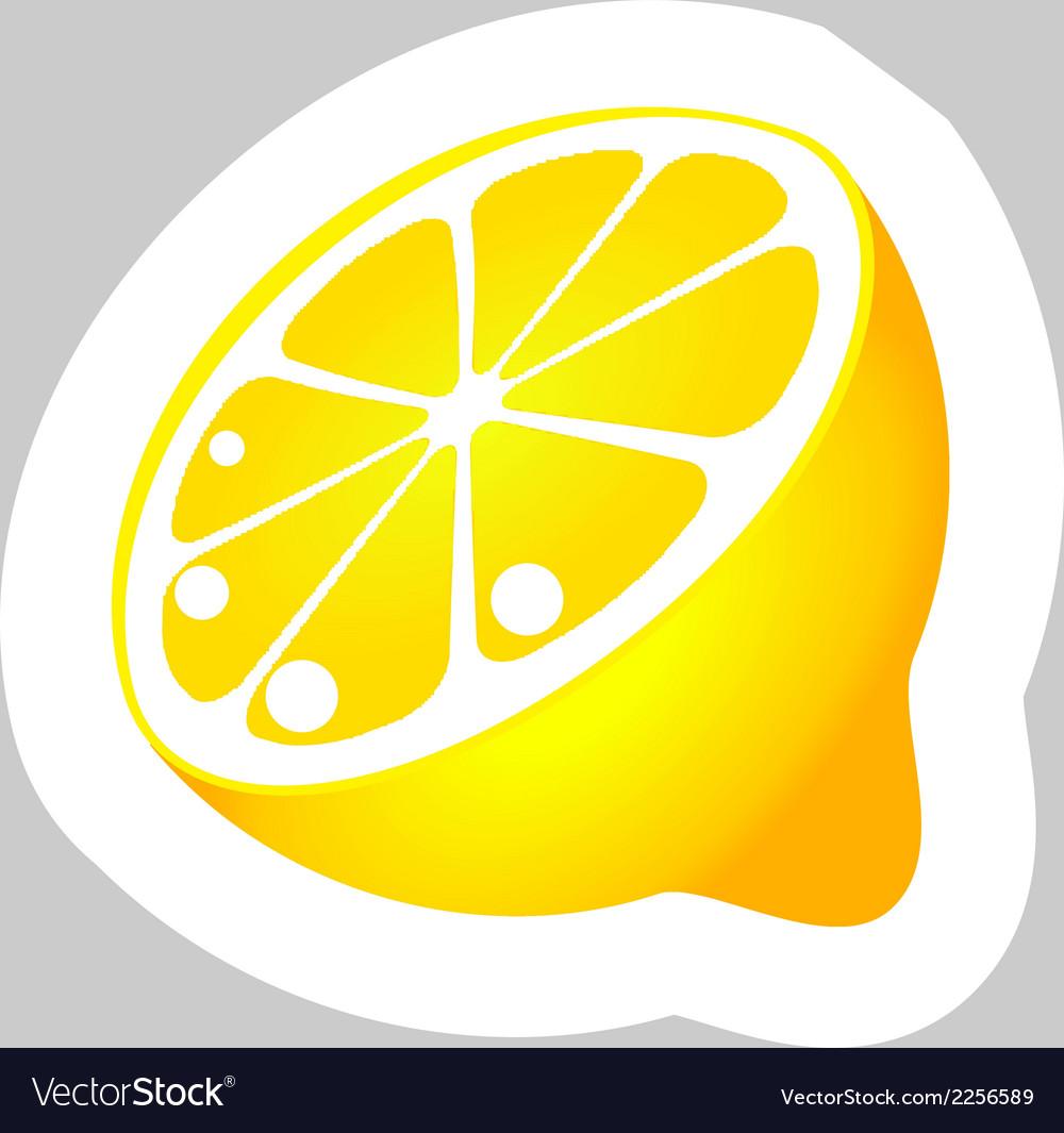 Lemon vector | Price: 1 Credit (USD $1)
