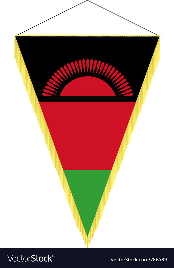 National flag of malawi vector | Price: 1 Credit (USD $1)