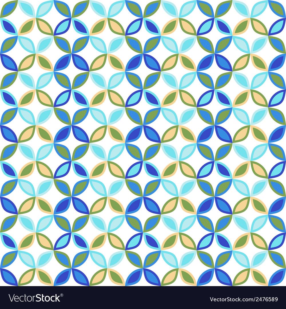 Seamless bright geometric circle pattern vector   Price: 1 Credit (USD $1)