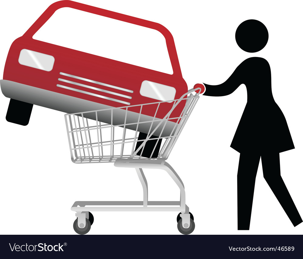 Shopping background vector | Price: 1 Credit (USD $1)