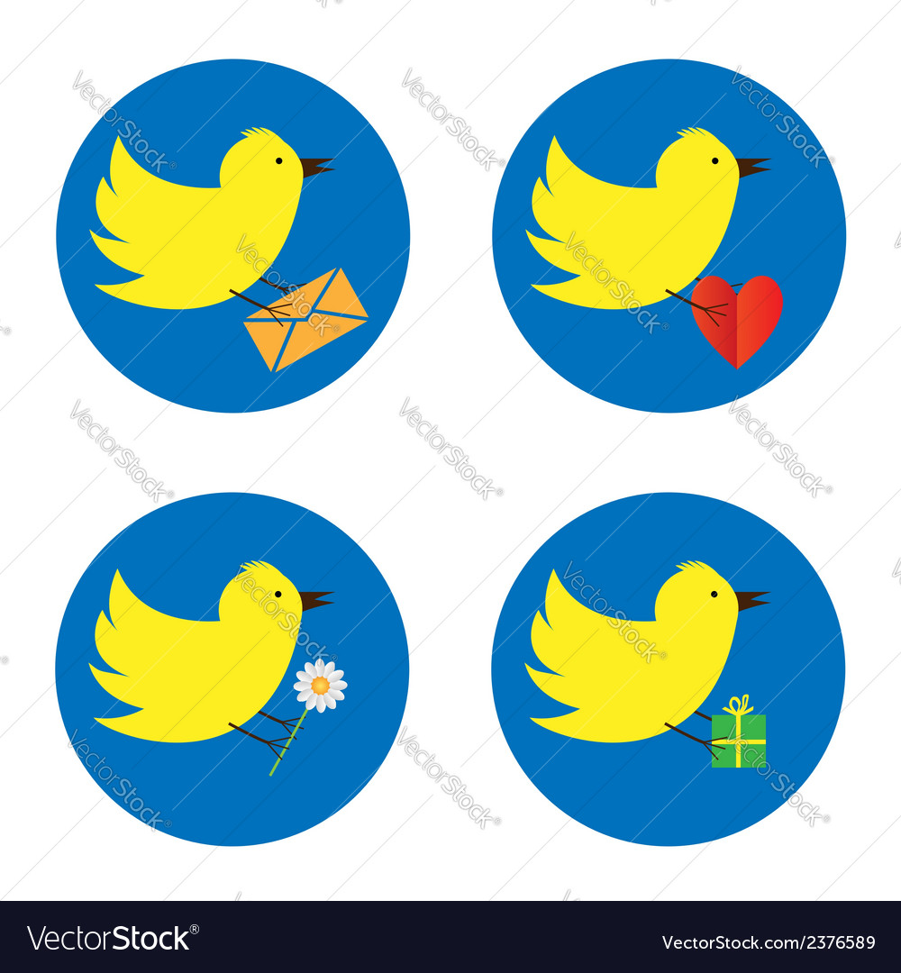Twitter bird vector | Price: 1 Credit (USD $1)