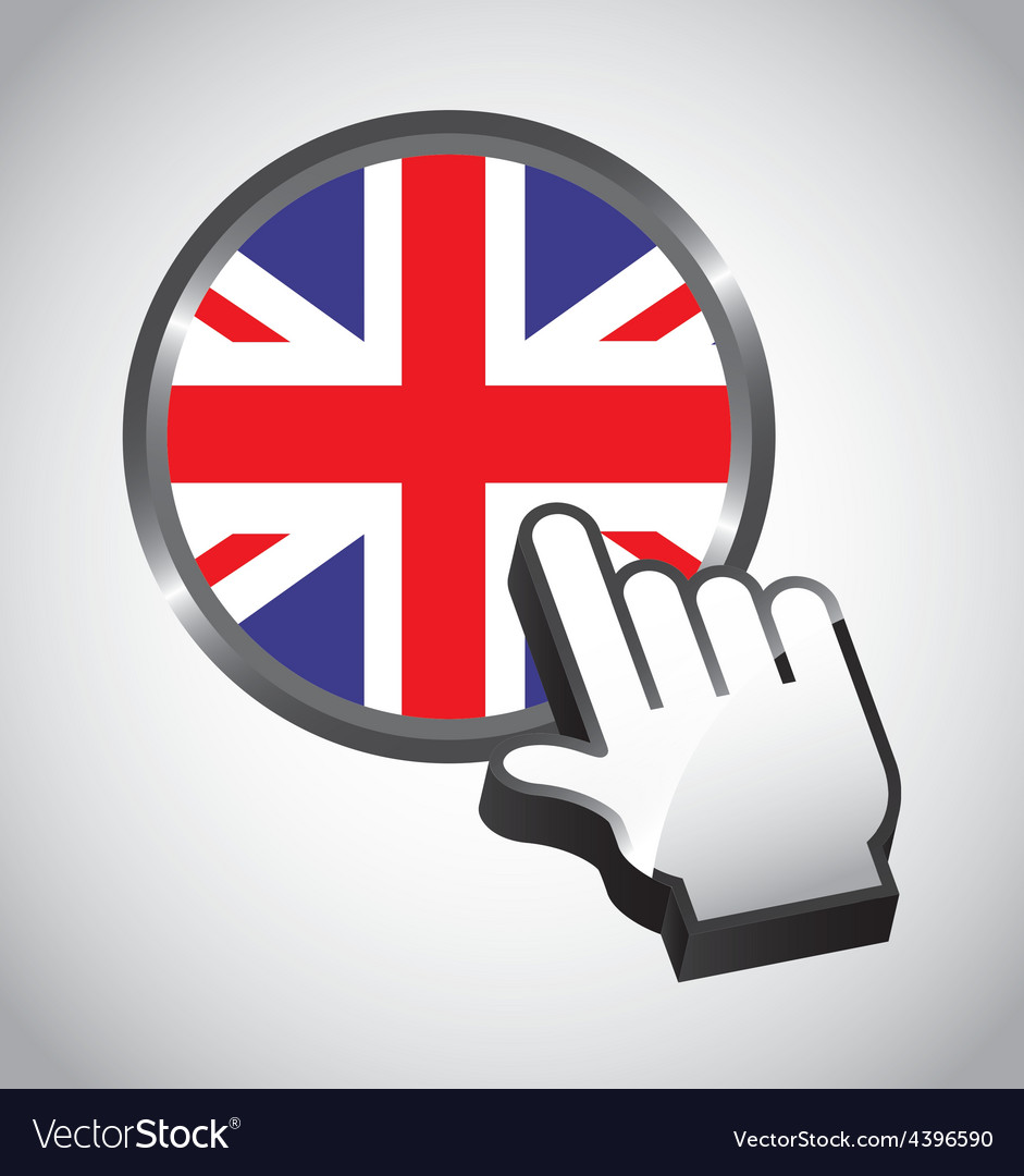 England button vector | Price: 1 Credit (USD $1)