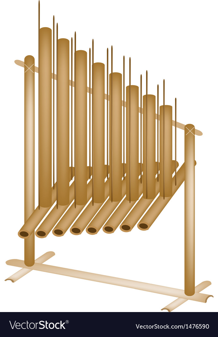 Musical angklung vector | Price: 1 Credit (USD $1)