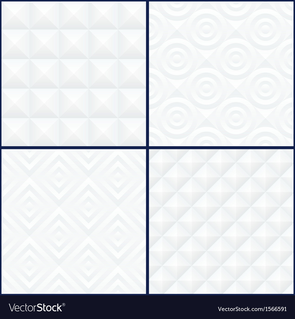 Abstract geometric patterns set vector | Price: 1 Credit (USD $1)