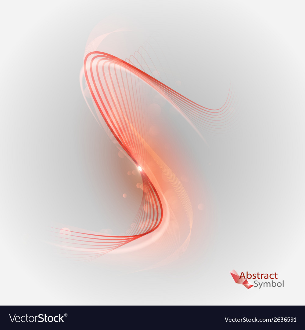 Curves red vector | Price: 1 Credit (USD $1)