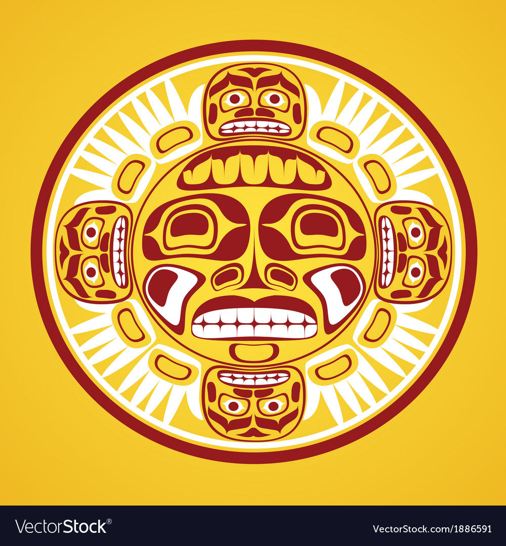 The sun symbol vector | Price: 1 Credit (USD $1)