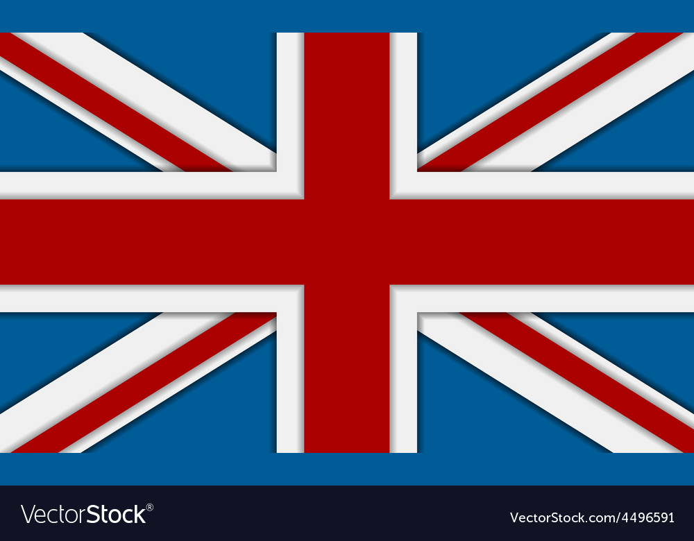 United kingdom of great britain flag vector | Price: 1 Credit (USD $1)