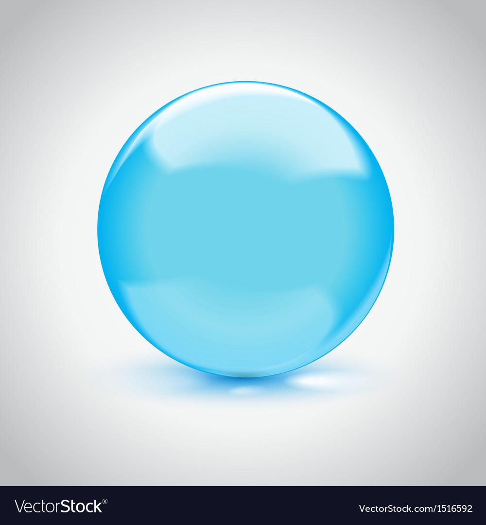 3d empty glass sphere vector | Price: 1 Credit (USD $1)