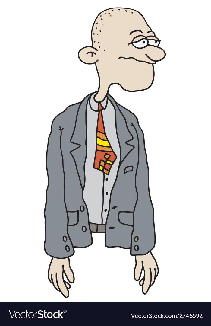 Funny man vector | Price: 1 Credit (USD $1)