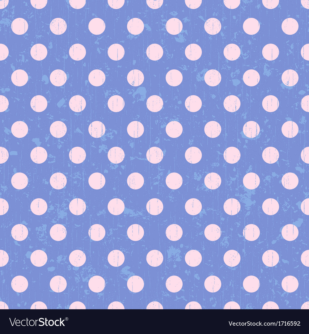 Seamless circle dots background vector | Price: 1 Credit (USD $1)