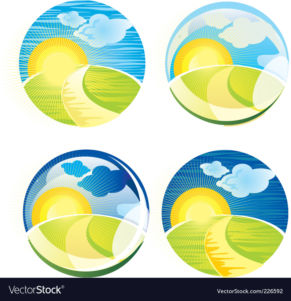Sunrise sphere vector   Price: 1 Credit (USD $1)