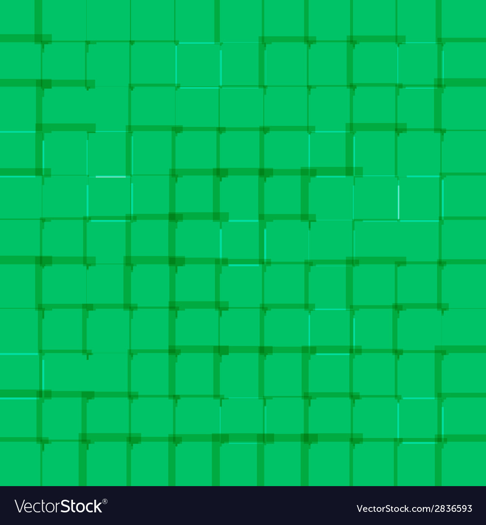 Abstract bright background with green squares vector | Price: 1 Credit (USD $1)