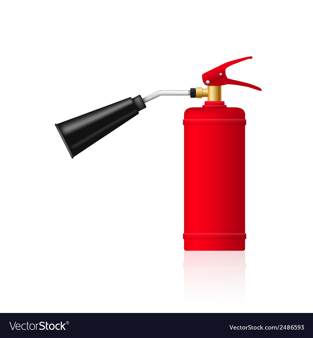 Fire extinguesher vector | Price: 1 Credit (USD $1)