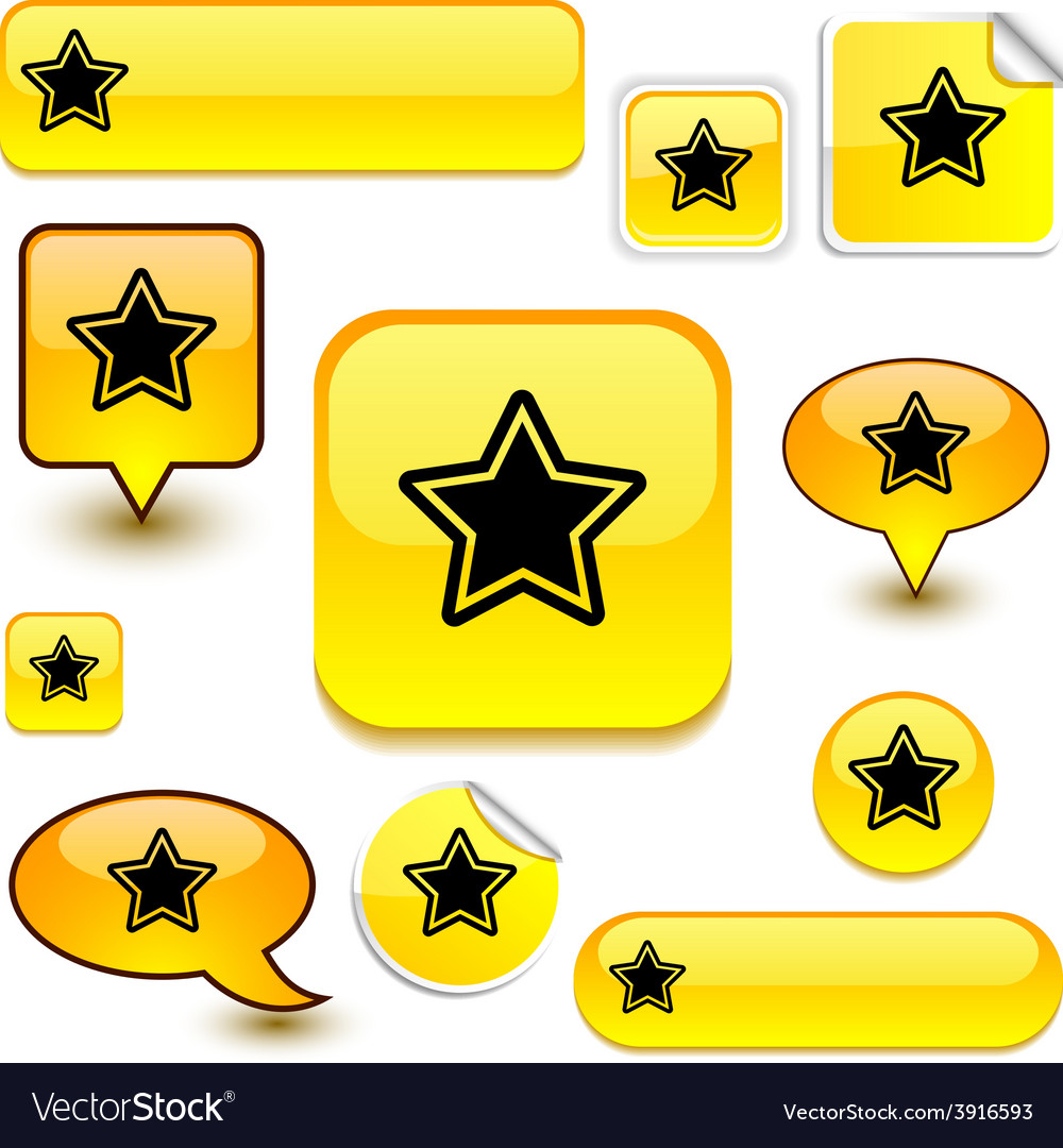 Star signs vector | Price: 1 Credit (USD $1)