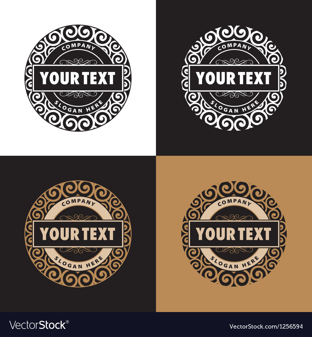 Confectionery company logo vector