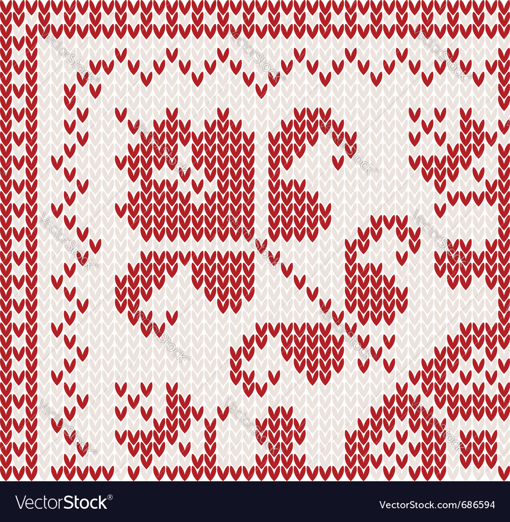 Knitted corner vector | Price: 1 Credit (USD $1)