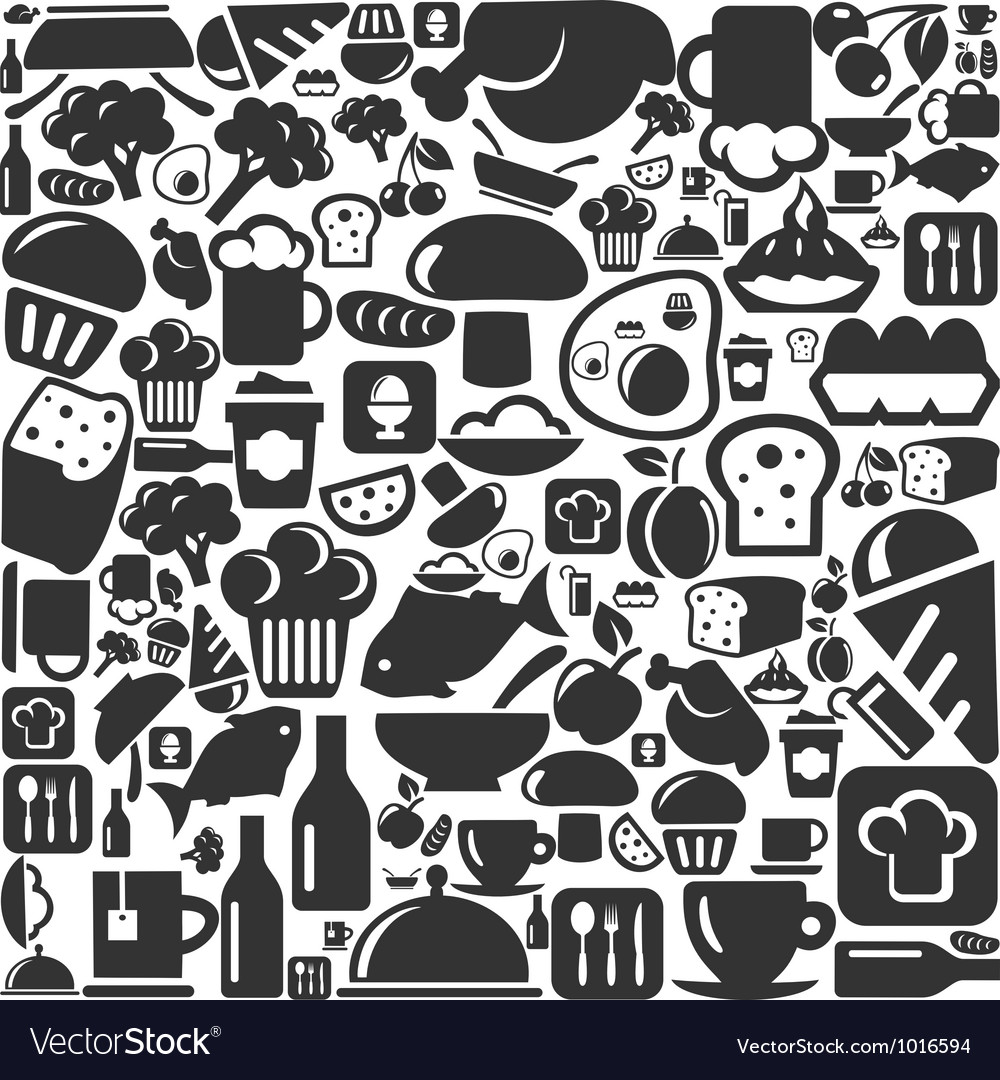 Meal a background vector | Price: 1 Credit (USD $1)