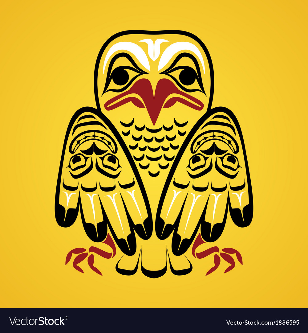 An eagle vector | Price: 1 Credit (USD $1)