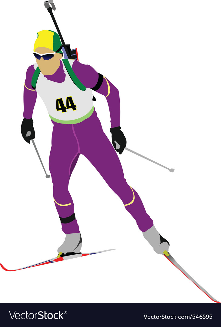 Biathlon vector | Price: 1 Credit (USD $1)