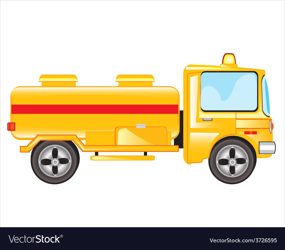 Car with tank vector   Price: 1 Credit (USD $1)
