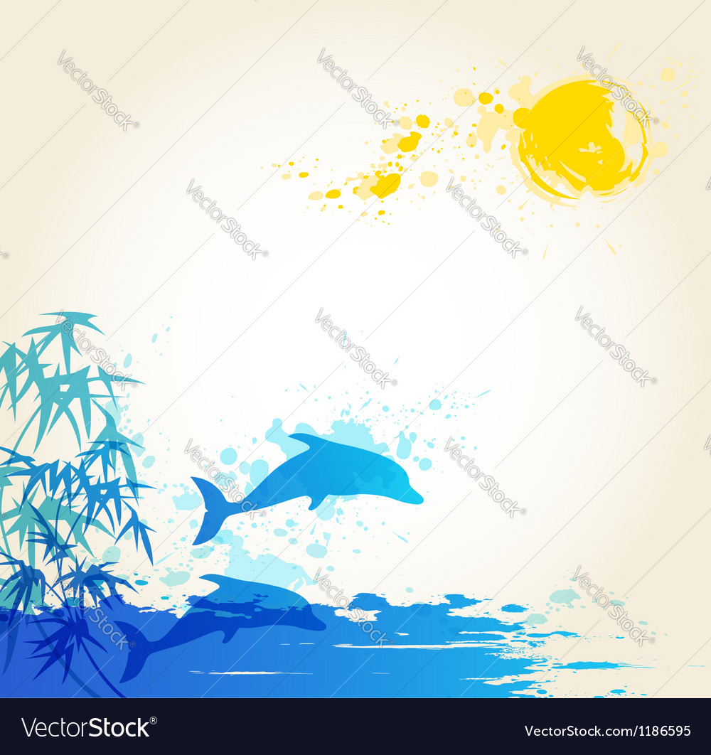 Sea blue vector | Price: 1 Credit (USD $1)