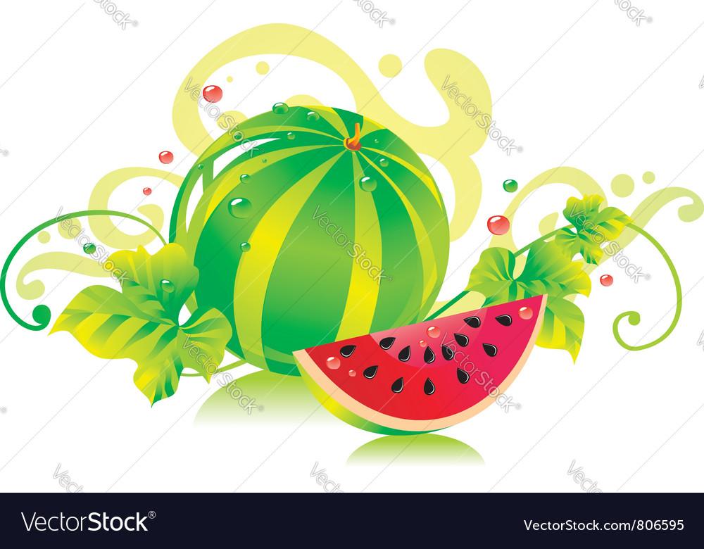 Watermelon vector | Price: 3 Credit (USD $3)