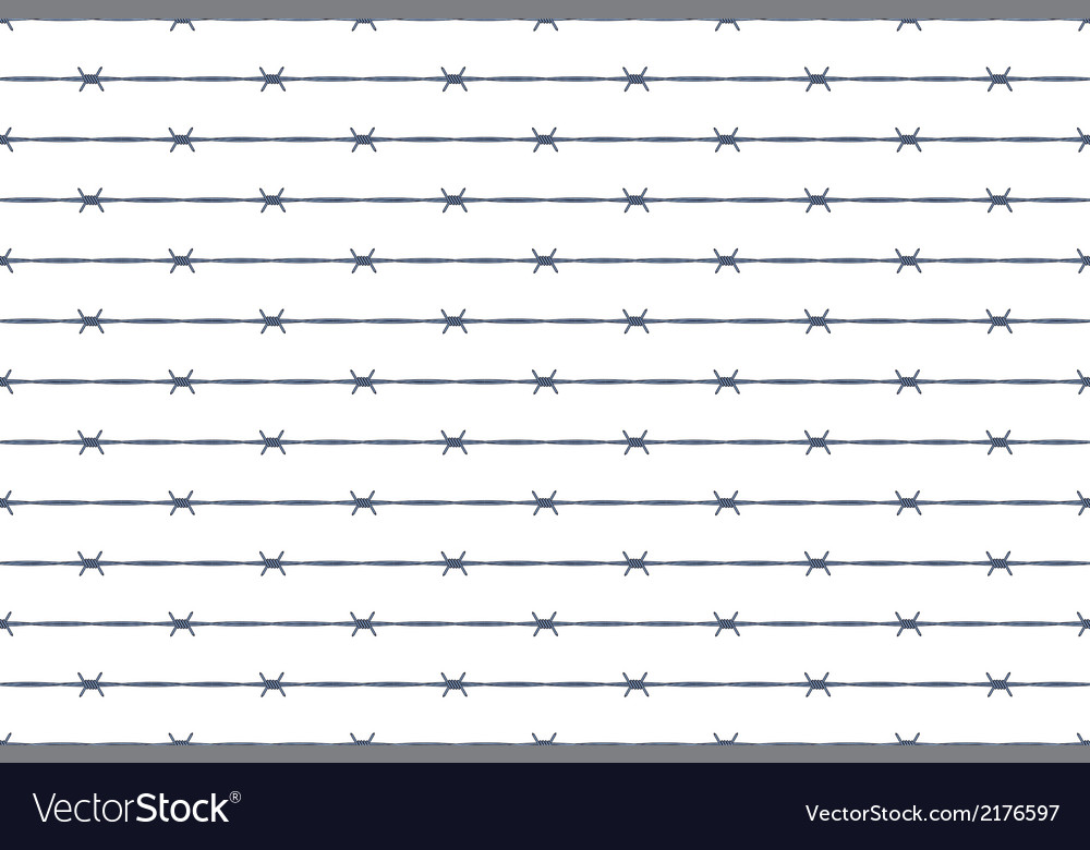 Barbed wire background vector | Price: 1 Credit (USD $1)