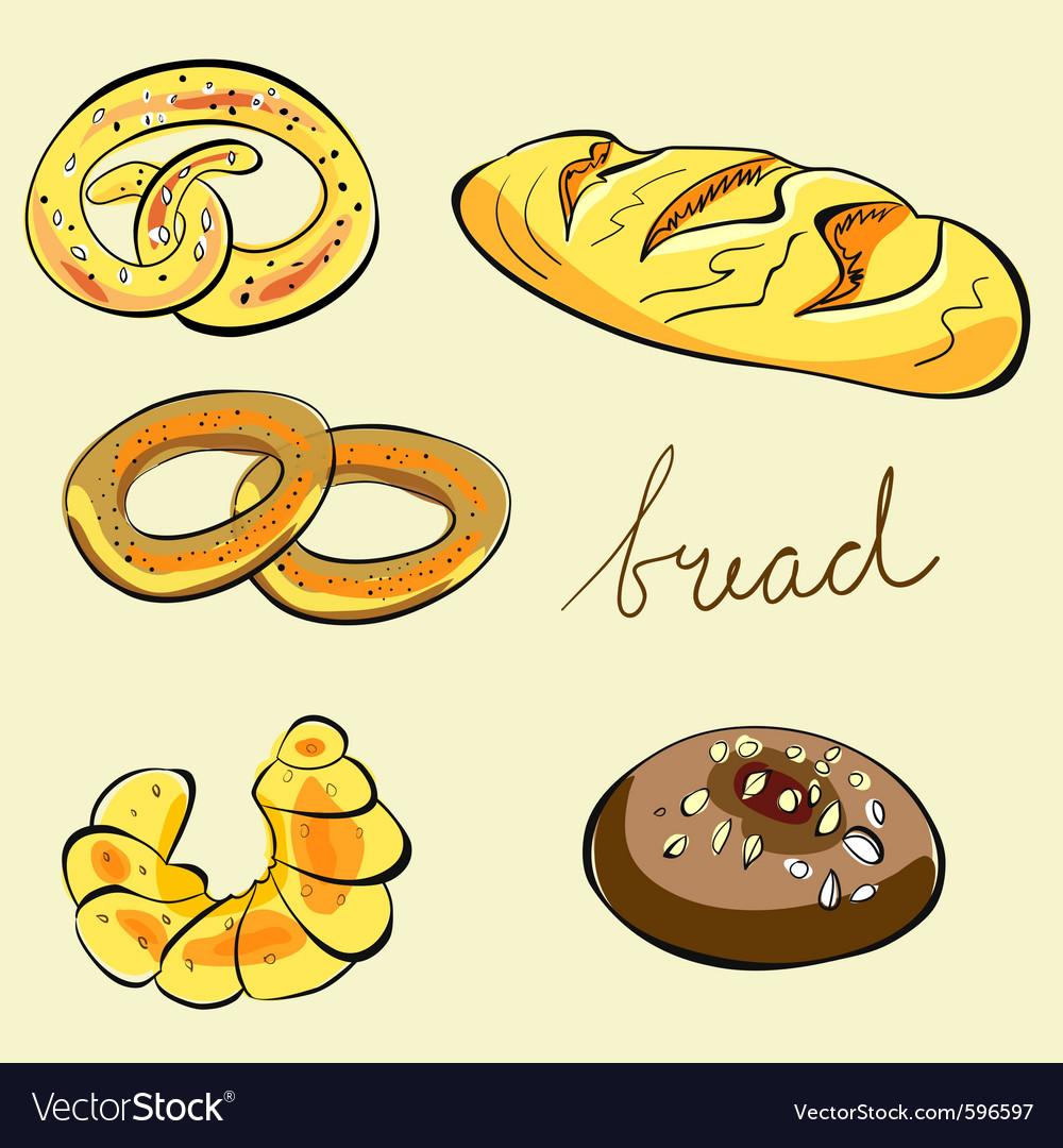 Bread vector | Price: 1 Credit (USD $1)
