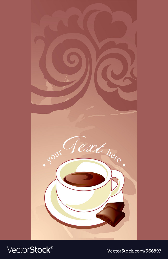 Coffee banner vector | Price: 1 Credit (USD $1)